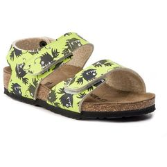 Birkenstock Sandały - palu kids bs 1012694 deep sea monster green