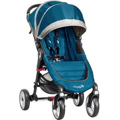city mini 4 koła, teal/gray marki Baby jogger