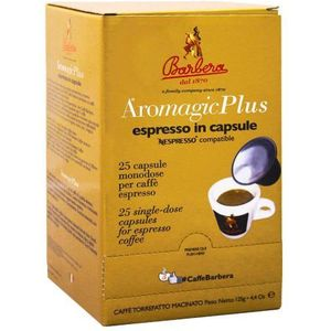 Barbera aromagic plus nespresso 25 kaps.
