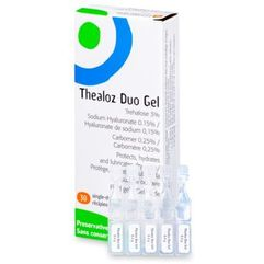 Thea Krople do oczu loz duo gel 30x 0,4g