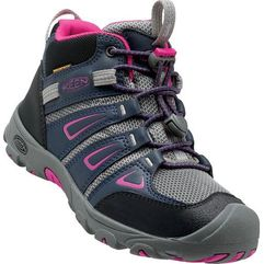 KEEN buty trekkingowe Oakridge Mid Wp Jr Dress Blues/Very Berry US 2 (34 EU)