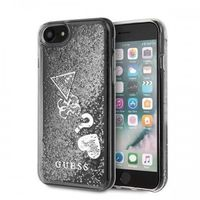 Guess GUHCI8GLHFLSI iPhone 7/8 srebrny /silver hard case Glitter Hearts, 48608 (11712775)