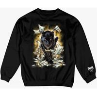 Bluza - prowl crew fleece black (black), Dgk