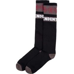 skarpetki INDEPENDENT - Woven Crosses Sock (1 Pack) Black (BLACK), kolor czarny