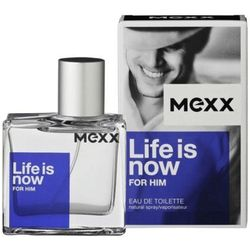 life is now for him edt 75 ml dla panów marki Mexx