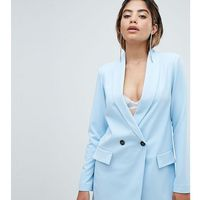 Missguided tailored blazer - blue