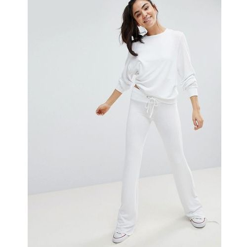 Wildfox Straight Cut Jogger - White